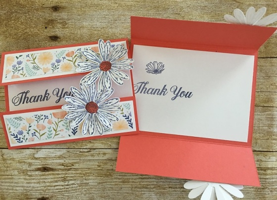 Daisy Delight Fold Card TY